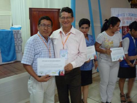 Seminario Regional Avances del Desarrollo Infantil Temprano y la Educación Intercultural Bilingue en Ucayali.