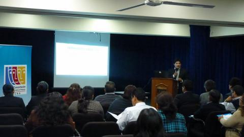 """Exposición """"Indicadores de los Programas Presupuestales y Ejecución del Gasto Público para el Seguimiento Concertado"""""""