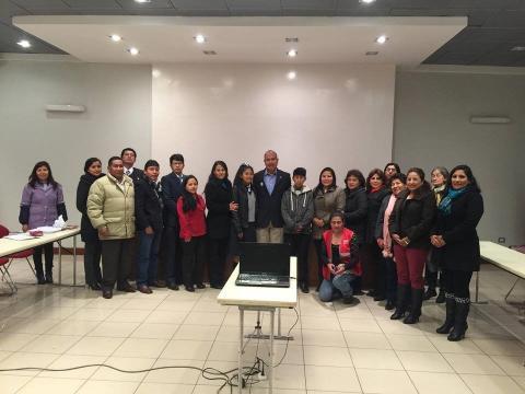 Diálogo con Niños y Adolescentes y Candidatos congresales por Cusco