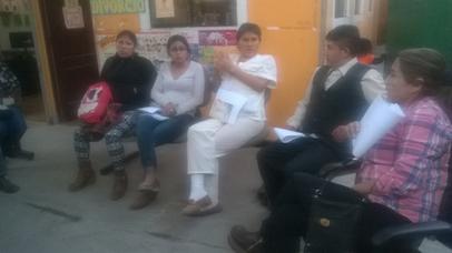 Jornada de trabajo organizada por el Comité Ejecutivo Distrital de la MCLCP - Salas Guadalupe