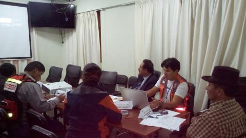 La MCLCP realiza veeduría del proceso de Simulacro en Abancay