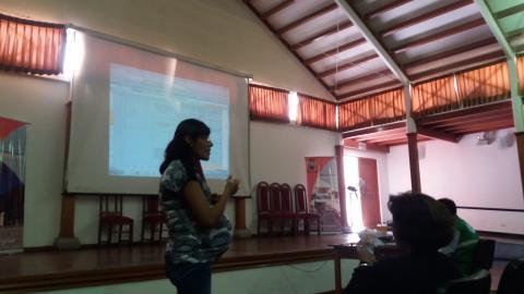Sesión de la  Comisión Ambiental de la provincia Mariscal Nieto