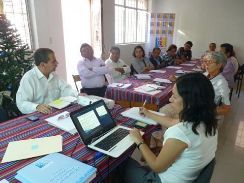 En la última Reunión Ordinaria del Comité Ejecutivo Regional de la MCLCP-Lambayeque se aboraron temas del incendio forestal, agenda nacional joven y agenda de la sociedad civil