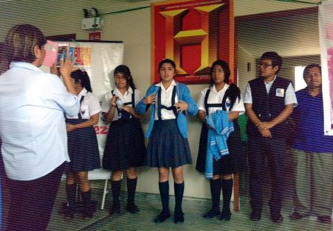 Participación de la MCLCP Región Lima en el Encuentro de Estudiantes Xammarino