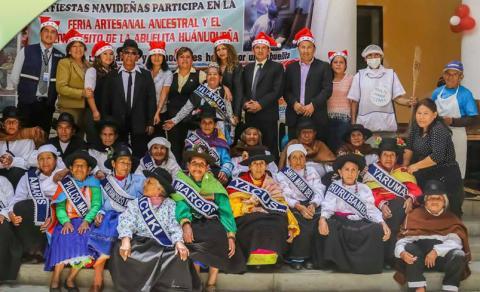 Conferencia de Prensa: Primera Feria Artesanal, Ancestral y el Lonchecito de la Abuelita.