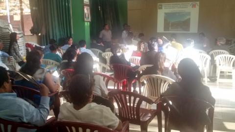 Tercera reunión de trabajo del Comité de Desarrollo Social local.