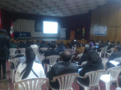 La MCLCP participo en la presentación y difusión de los resultados de los monitores de calidad de agua superficial del Lago Titicaca.