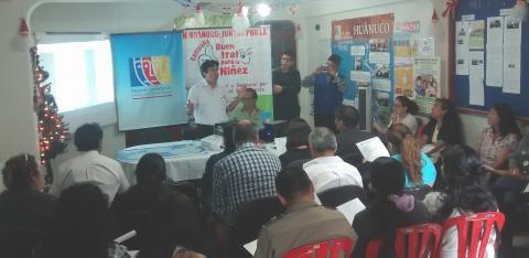 Comité Ejecutivo Regional de la MCLCP Huánuco se reúne para aprobar primer reporte de Seguimiento Concertado a los Acuerdos de Gobernabilidad y para la Elaboración del POA 2017.