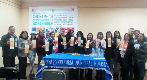 ODS y Acuerdos de Gobernabilidad Ancash, para proteger a las niñas, niños y adolescentes frente a la Violencia