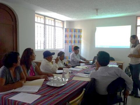 MCLCP y CTVC-Lambayeque capacitaron a líderes sociales en protocolo de veeduría
