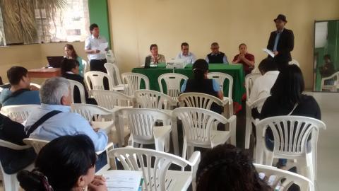 Cuarta reunión de trabajo del Comité de Desarrollo Social Local.