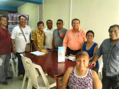 Reunión de coordinaciones para inicio de acciones  de seguimiento concertado a la  implementaciòn de polìticas de atenciòn  de las personas con discapacidad.