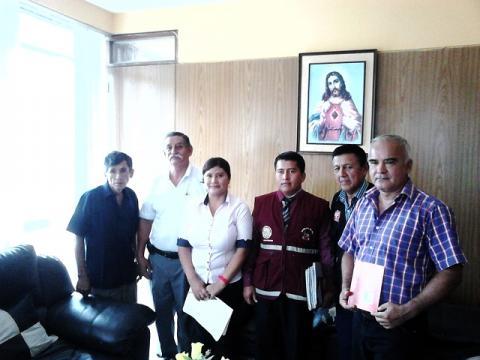Reuniòn de coordinaciòn para elaboraciòn de ruta de trabajo en la provincia de Zarumilla