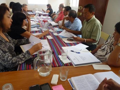 1° Reunión del Comité Ejecutivo Regional de la MCLCP-Lambayeque