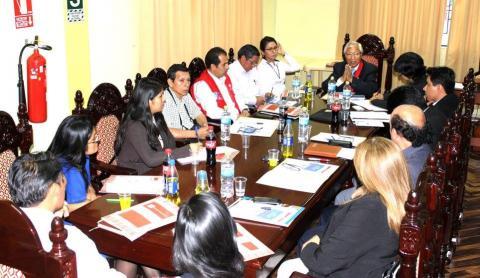 Taller de Inducción de la Mesa de Trabajo por la Transparencia Judicial de Huánuco.