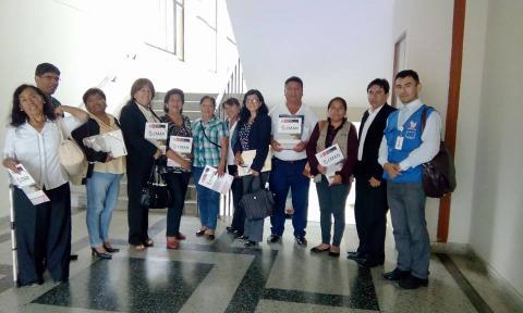 Reunión Colectivo Post CVR y Asesor Legal de la Unheval.