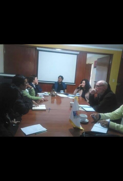 Reunión de la Mesa Temática de Derechos Humanos y Cultura de Paz.