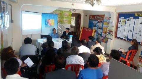 """Comité Ejecutivo Regional MCLCP Huánuco asume compromisos para la veeduría del """"Buen Inicio del Año Escolar 2017"""""""