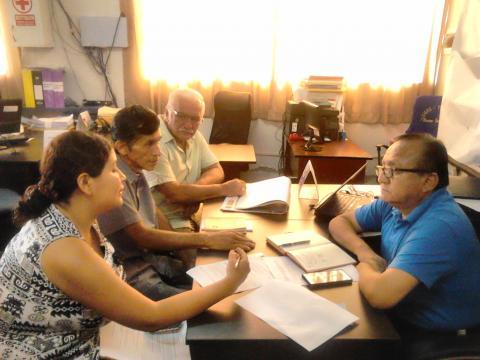 Visitas de coordinación sobre la gestión para el Buen inicio del año escolar