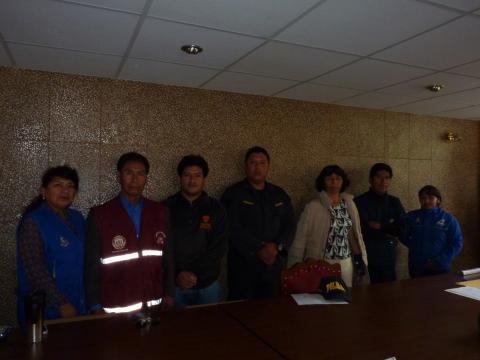 Mesa Distrital de Palca (Tacna) acuerda hacer seguimiento al programa social Qali Warma y la construcción de IIEE