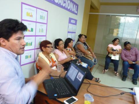 Apertura Mesa Distrital Pocollay, Tacna