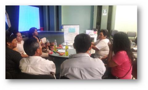 Jornada de evaluación y planificación de actividades para el año 2017 de la MCLCP-Santiago