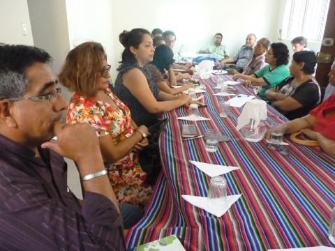 Mesa de Lambayeque en reunión extraordinaria por situación de emergencia de la región