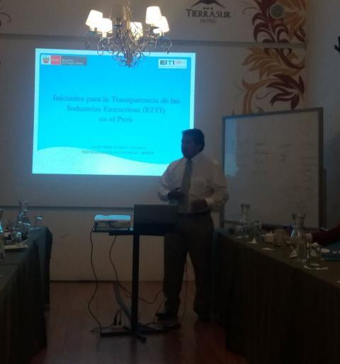 Transparencia en las Industrias Extractivas-EITI