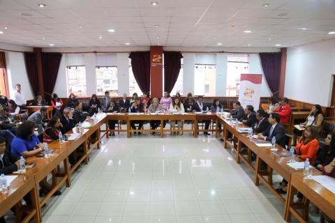 Reunión de la Instancia Regional de Concertación.
