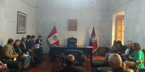 REUNIÓN: ACUERDO REGIONAL DE AREQUIPA