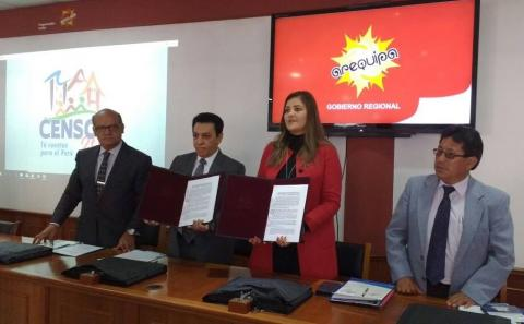 Firma de Convenio de cooperación inter institucional.