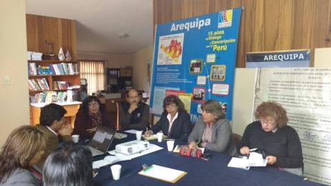 Reunión de trabajo del Comité Multisectorial para la Erradicación de la Desnutrición y Anemia.