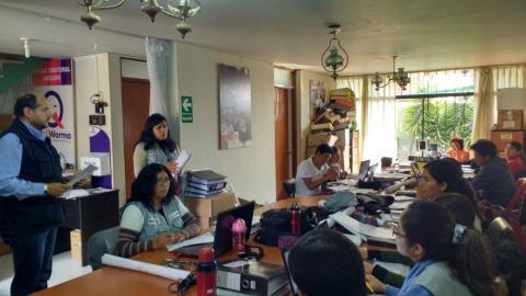 Reunión de capacitación Promotores PNAE QW
