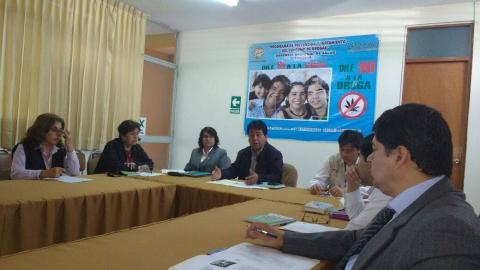 """Reunión para la Articulación Intersectorial """"Prevención y Rehabilitación del Consumo de Drogas"""""""
