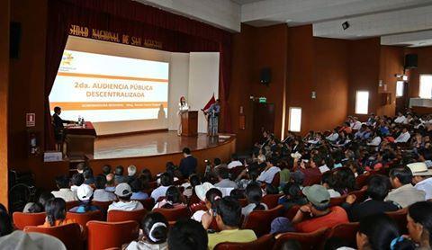 II Audiencia de Rendición de Cuentas del Gobierno Regional de Arequipa