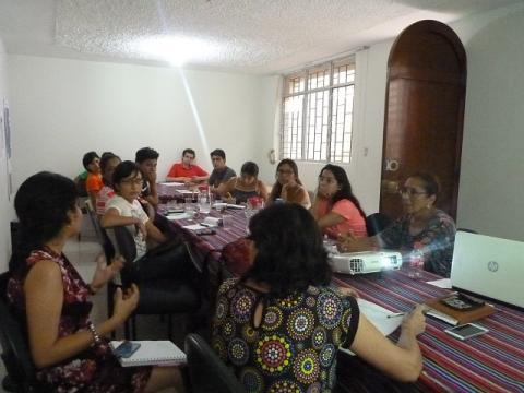 Tercera reunión de coordinación con organizaciones de ayuda humanitaria en Lambayeque