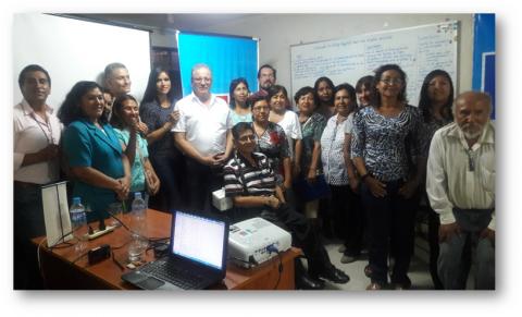 Desarrollo de capacidades en los integrantes de los Comités Ejecutivos de las MCLCP-Ica, en el marco del proceso del presupuesto participativo