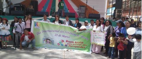 """Temática de personas con discapacidad de la MCLCP Huánuco; conmemora el """"Día Internacional del Síndrome de Down"""""""
