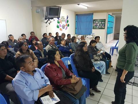 Concertación y Participación de las Organizaciones de Base del Distrito JLByR