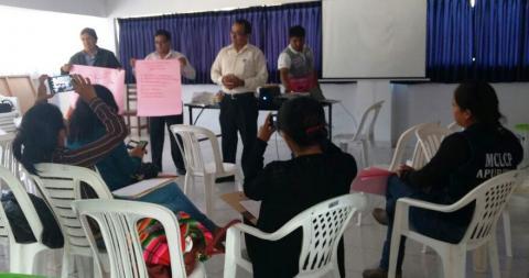 MCLCP-Apurímac apoya en el taller de promoción de Vigilancia Social
