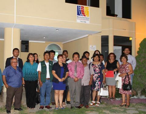 Sesión de Instalación de la MCLCP Tacna