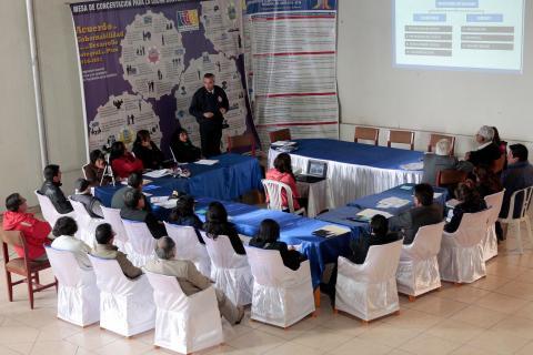 II Reunión del Comité Ejecutivo Regional de la MCLCP - Junín