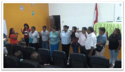 Jornada de renovación de la MCLCP-Parcona 2017-2019