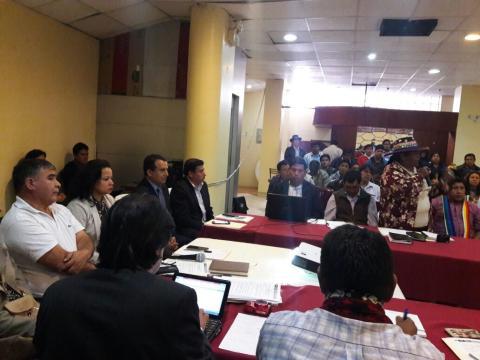 MCLCP Apurímac asiste a la Cuarta Reunión de la CONEIB con sede en Abancay