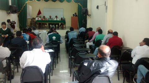 Presentación de proyecto productivo en Centro Poblado de Mayobamba - Huánuco