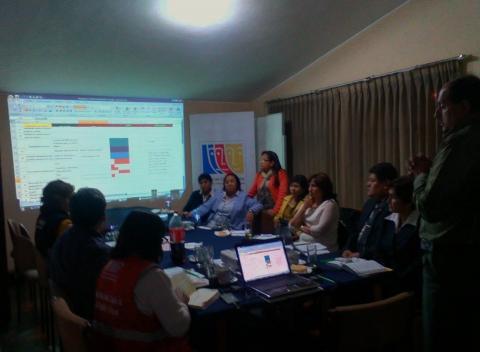 """Taller de planificación:elaboración de la estructura del Proyecto Social """"Centro de Prevención y Acogida de Familias en situación de violencia"""""""