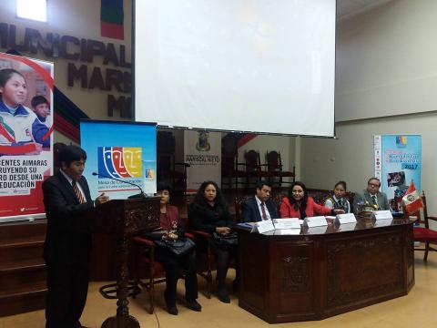 Moquegua presentó resultados de la veeduría del Buen Inicio del Año Escolar 2017
