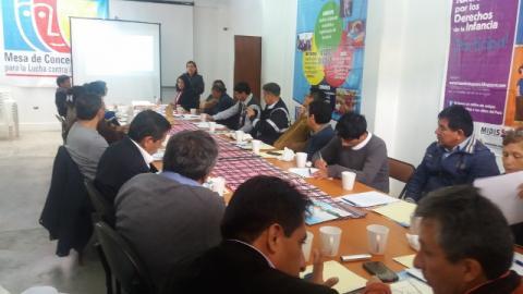 Primera reunión de la comisión de trabajo de desarrollo económico