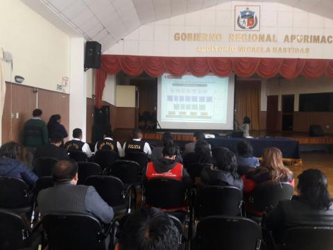 Se realizó reunión de prevención de trata de personas con asesora del Ministerio del Interior