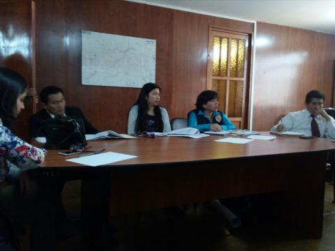 MCLCP de Apurímac participa en reunión sobre el Plan Multisectorial de Bajas Temperaturas